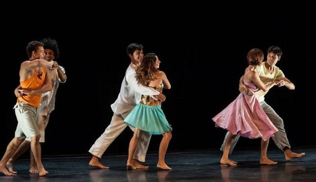 O espetáculo Parabach é inspirado na musicografia de Johann Sebastian Bach - Foto: Celso Oliveira | Divulgação