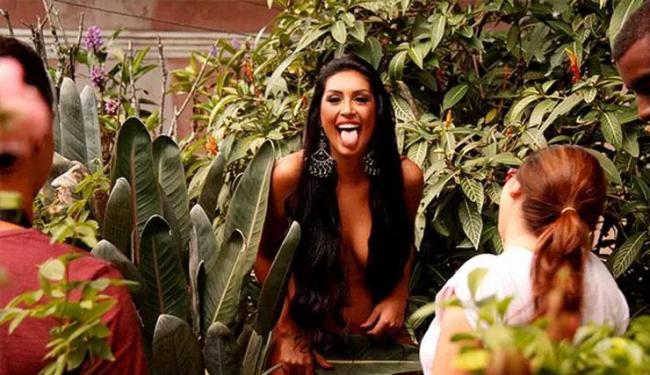 Amanda já fez ensaio sensual para o site Paparazzo - Foto: Reprodução | Mariana Gibara | Paparazzo