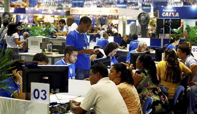 Feirão do ano passado movimentou quase R$ 500 milhões somente na Bahia - Foto: Fernando Vivas | Ag. A TARDE | 16.05.2014
