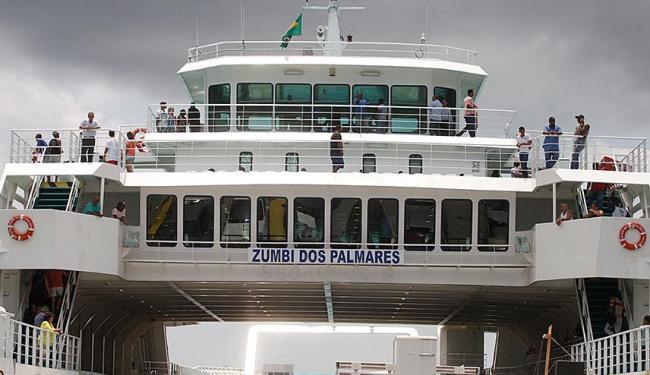 Ferry Zumbi dos Palmares foi fretado para uma convenção de uma operadora de telefonia - Foto: Edilson Lima | Ag. A TARDE