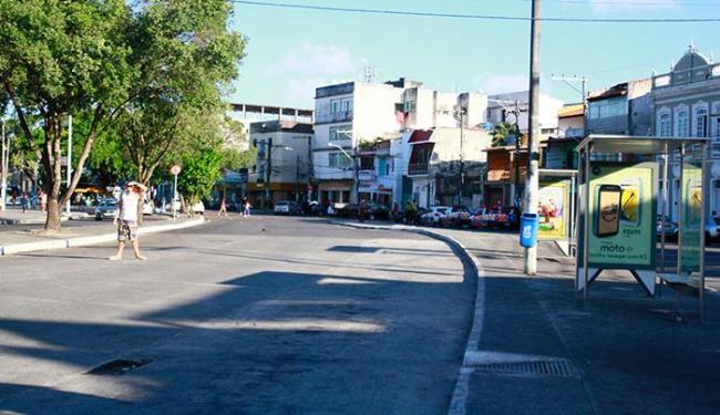 Neste sábado, 4, os ônibus continuavam sem a circular até o final de linha da Ribeira - Foto: Edilson Lima | Ag. A TARDE