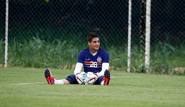 O goleiro Jean se mostra cada vez mais à vontade no Tricolor - Foto: Fernando Amorim l Ag. A TARDE