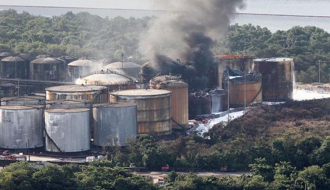 As chamas duraram mais de uma semana - Foto: Mauricio de Souza   Estadão Conteúdo
