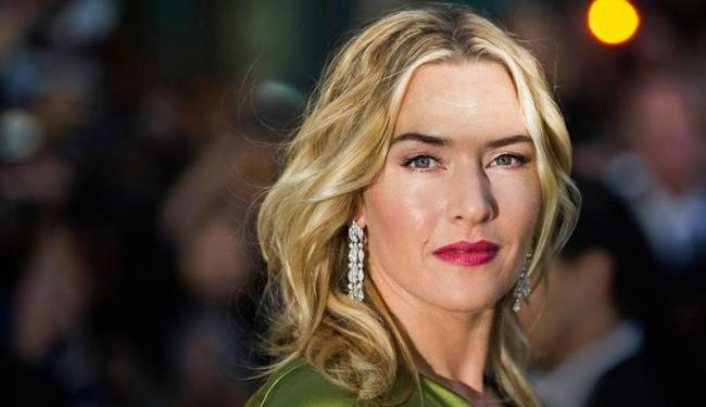 Kate Winslet na exibição de