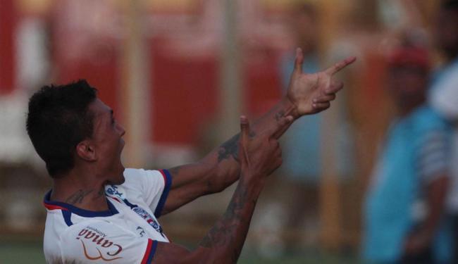 Kieza marcou 11 gols em 16 jogos pelo Bahia - Foto: Lúcio Távora | Ag. A TARDE