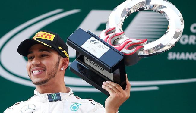 Hamilton vence o GP da China para a Marcedes - Foto: Aly Song | Agência Reuters
