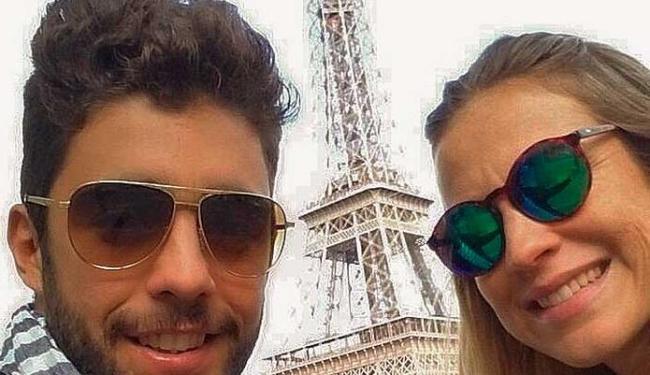 Luana Piovani e o marido Pedro Scooby estão em Paris - Foto: Reprodução   Instagram