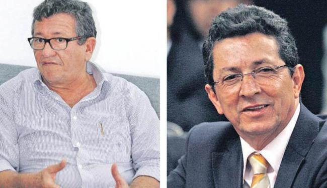 Luiz Caetano (E) salienta que seu grupo defende prévias. Simões diz que reciprocidade pode