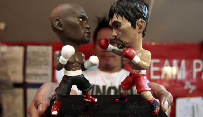 Luta acontece dia 2 de maio em Las Vegas - Foto: Romeo Ranoco | Reuters