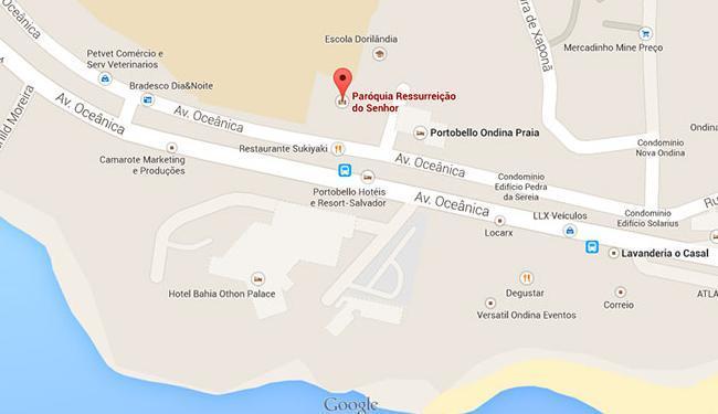 O bloqueio acontece em apenas uma das faixas das vias, a partir das 17h30 - Foto: Reprodução | Google Maps