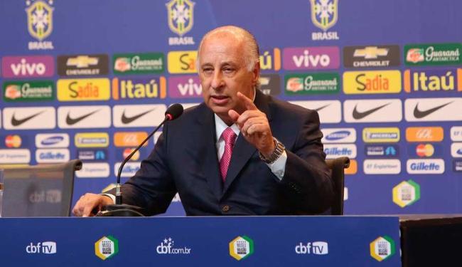 Del Nero entende que a seleção vai recuperar o prestígio rapidamente - Foto: Rafael Ribeiro / CBF