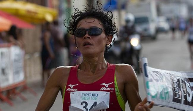 Marily está entre as duas melhores do ranking e tem a chance de voltar a correr maratona olímpica - Foto: João Alvarez l Sistema FIEB