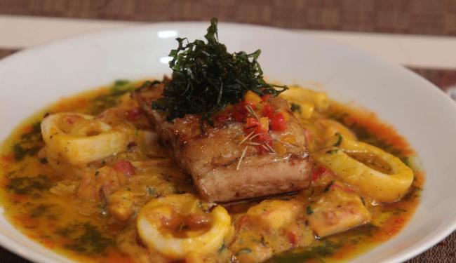 Paripe, segundo o chef Gerson Alves: releitura de um bobó - Foto: Lúcio Távora | Ag. A TARDE