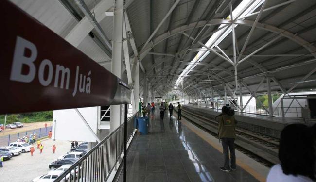 Com nova estação metrô chega a 10 km - Foto: Joa Souza | Ag. A TARDE