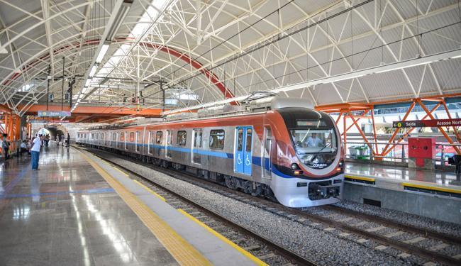Ao todo, são disponibilizadas 38 vagas para bilheteiro de metrô - Foto: Erik Salles   Ag. Servphoto
