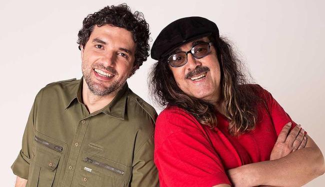 Moraes com o filho Davi: duas gerações a serviço da música popular brasileira - Foto: Marcos Hermes | Divulgação