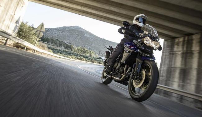 A moto ganhou reforço para gerar 95 cv - Foto: Divulgação