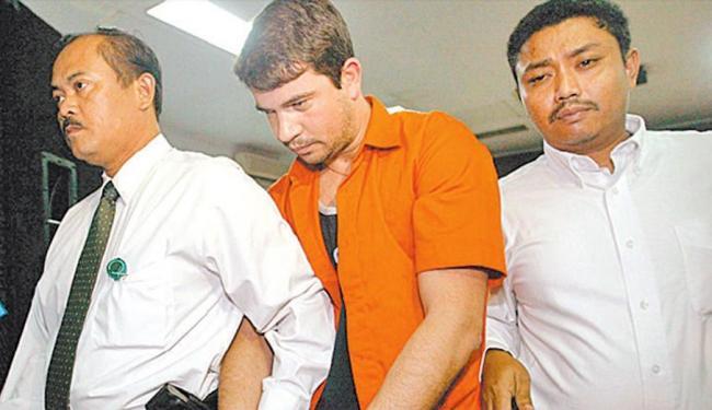Gularte foi detido em 2004 ao entrar no aeroporto de Jacarta com seis quilos de cocaína - Foto: Reprodução