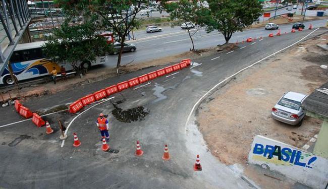 A modificação do trânsito no trecho deve durar 60 dias - Foto: Margarida Neide   Ag. A TARDE