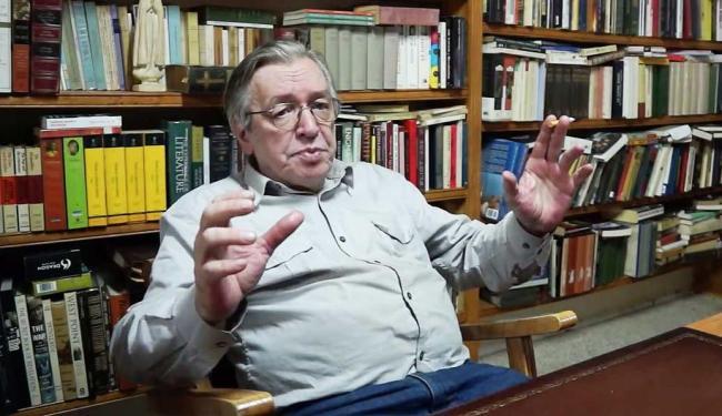 Olavo de Carvalho é filósofo, professor e escritor - Foto: Divulgação