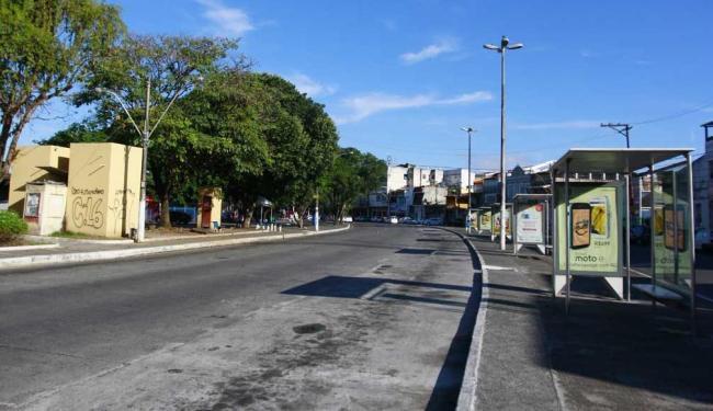 População ficará 4h sem ônibus - Foto: Edilson Lima   Ag. A TARDE