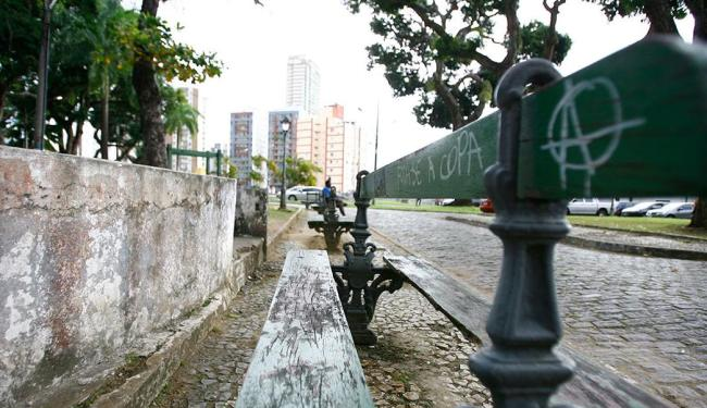 O espaço, que fica no Campo Grande, será reformado - Foto: Joá Souza | Ag. A TARDE | 19.09.2014