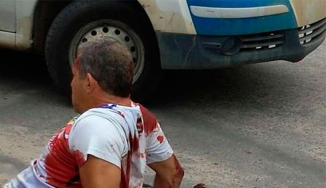 PM foi baleado durante tentativa de assalto - Foto: Reprodução | Bahia Extremo Sul