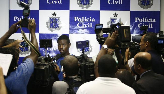 Danilo foi preso no dia 5 de maio de 2014 - Foto: Raul Spinassé | Ag. A TARDE