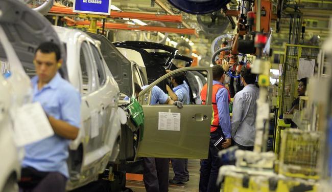 Produção industrial na Bahia teve recuo de 6,4% - Foto: Joá Souza | Ag. A TARDE