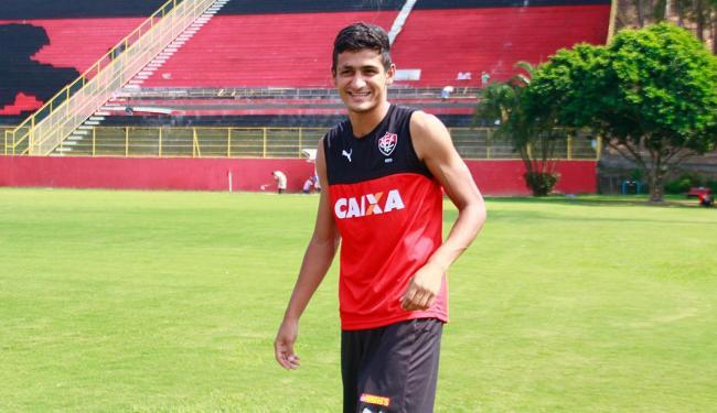Apesar de ser jogador da base, Ramon pertence a outro clube - Foto: Edilson Lima   Ag. A TARDE