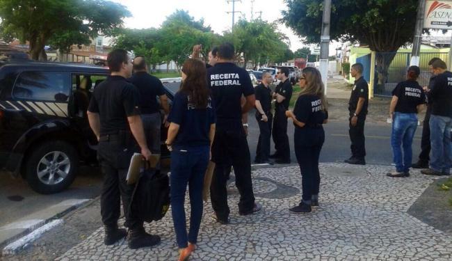 Operação cumpre quatro mandados de busca e apreensão - Foto: Divulgação   Receita Federal