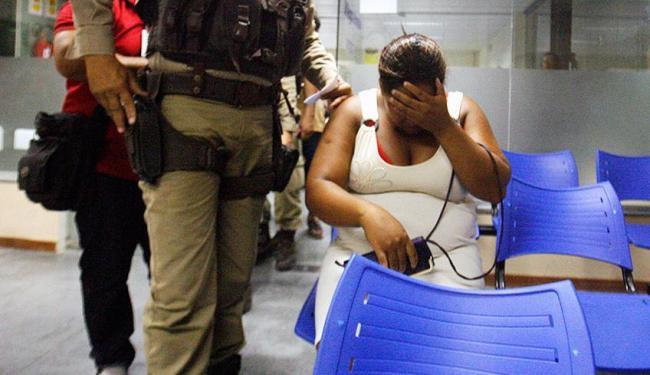 Renilda de Jesus foi presa em flagrante e levada para Complexo Policial - Foto: Luiz Tito | Ag. A TARDE