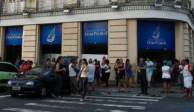 Faculdades suspendem provas e aulas na noite desta sexta-feira, 10 - Foto: Luciano da Matta | Ag. A TARDE