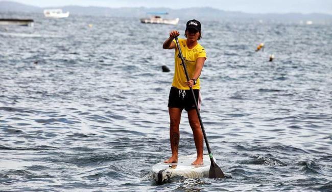 Tetracampeã brasileira, a baiana Babi Brazil vai disputar evento - Foto: Edilson Lima | Ag. A TARDE