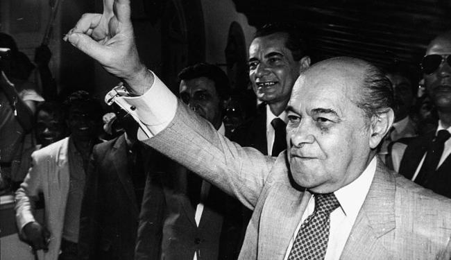 Tancredo Neves passou a ser esperança de todos os brasileiros - Foto: Arquivo A TARDE