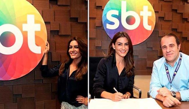 Ticiana vai fazer parte da linha de show do SBT - Foto: Leonardo Nones/SBT
