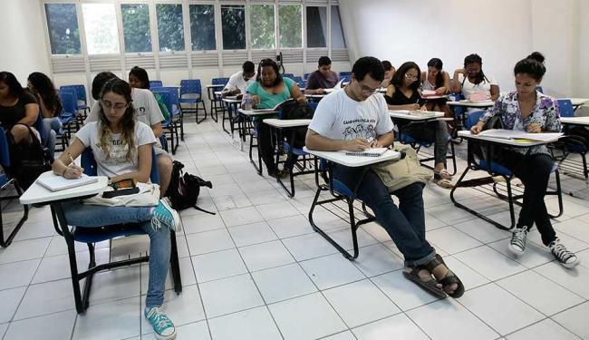 Instituições cancelaram as avaliações; aulas estão mantidas - Foto: Mila Cordeiro | Ag. A TARDE