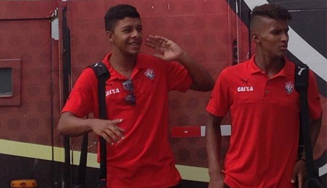 Leãozinho já se encontra no Rio de Janeiro para encarar o Flamengo - Foto: Divulgação l E.C. Vitória
