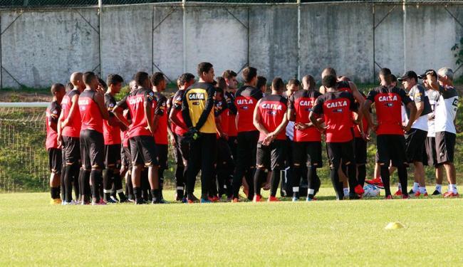 Time do Vitória se une em preparação para Brasileirão - Foto: Margarida Neide | Ag. A TARDE