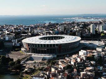 Vista panorâmica da Arena Fonte Nova - Foto: Mila Cordeiro | Ag. A TARDE | 12.04.2014