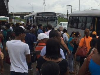 Rodoviários continuam em campanha salarial - Foto: Luciano da Matta | Ag. A TARDE