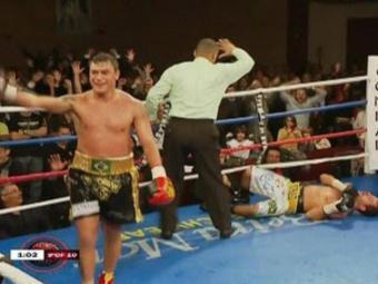 Popó e Michael se enfrentaram em 2012. Na ocasião, o baiano venceu por nocaute - Foto: Reprodução