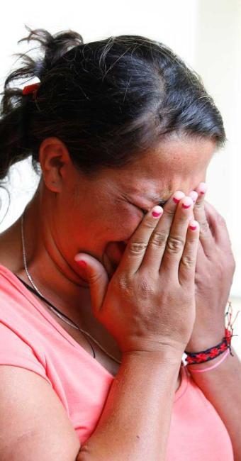 Silvania Maria Mota Silva é mãe biológica das crianças - Foto: Marco Aurélio Martins | Ag. A TARDE