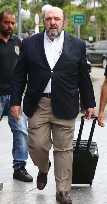 Presidente da UTC Egenharia, o baiano Ricardo Pessoa, vai depor esta tarde - Foto: Marcos Bezerra | Futura Press | Estadão Conteúdo