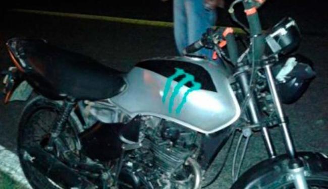 O adolescente morreu no local do acidente - Foto: Reprodução I Blog do Anderson
