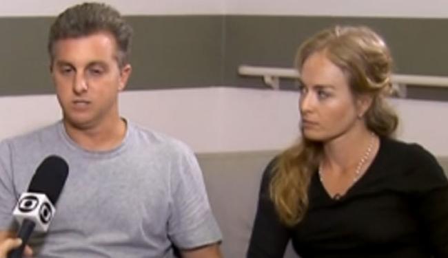 Angélica e Luciano Huck contaram como reagiram diante do acidente para o Jornal Nacional - Foto: Reprodução | TV Globo