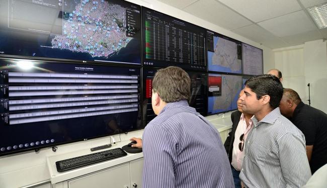 Centro de Controle de Operações, que interage com os usuários, foi inaugurado na última terça, 26 - Foto: Max Haack   Divulgação