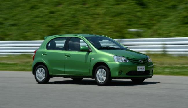 A TARDE andou no Etios no Japão em 2012 - Foto: Divulgação / Toyota