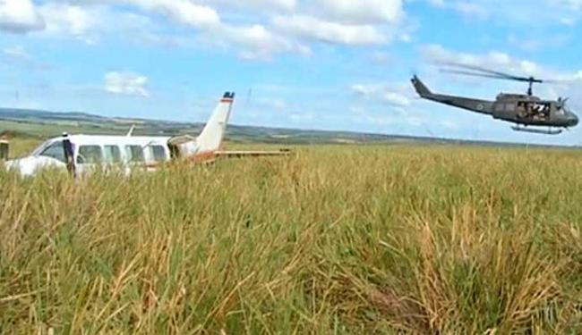 Avião que transportava Huck e Angélica e outras sete pessoas precisou fazer um pouso forçado - Foto: Reprodução | TV Morena | TV Globo