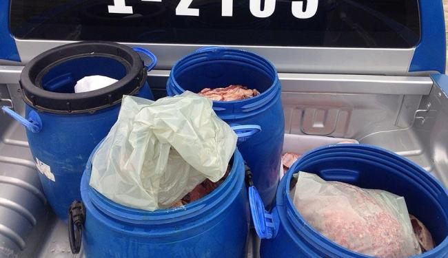 A ação foi deflagrada para combater furtos, abates clandestinos de gado e venda clandestina - Foto: Divulgação | Polícia Civil